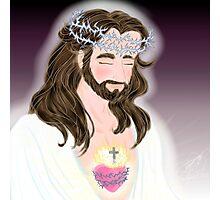 Jesus Sacred Heart Photographic Print