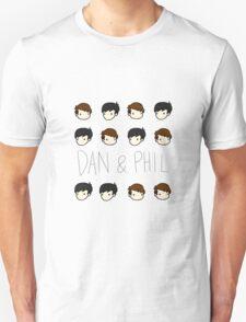 Dan and Phil Pattern T-Shirt