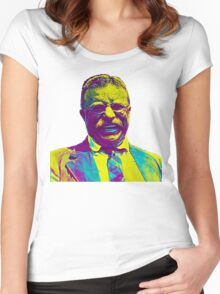 Theodore Roosevelt Women's Fitted Scoop T-Shirt