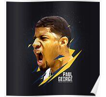 Paul George Art Work Poster