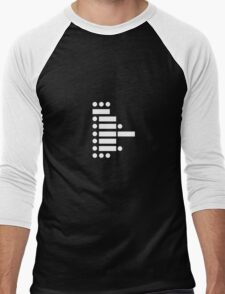 star wars (in morse code) Men's Baseball ¾ T-Shirt