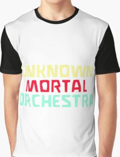 Unknown Mortal Orchestra Logo Graphic T-Shirt