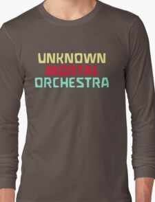 Unknown Mortal Orchestra Logo T-Shirt