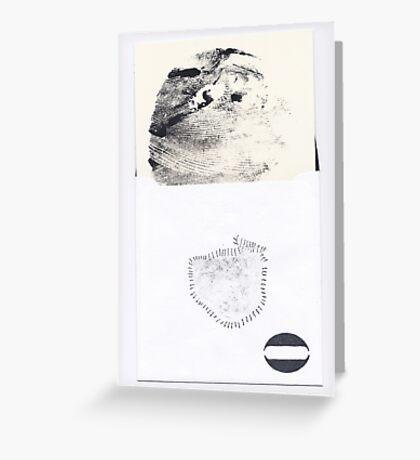 Lunaison d'un sein Lunation of a breast - New serie EROS 2012 Greeting Card