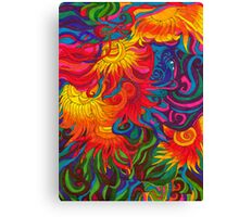 UNCLOUDED DAY Canvas Print