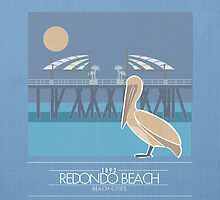 Beach Cities. Redondo Beach [Dark] by delaroca