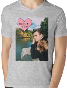 Joe Sugg nature happy Mens V-Neck T-Shirt