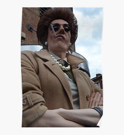 Eastenders' Dot Cotton drag queen - Leeds Gay Pride Poster
