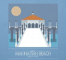 Beach Cities. Manhattan Beach [Dark] by delaroca
