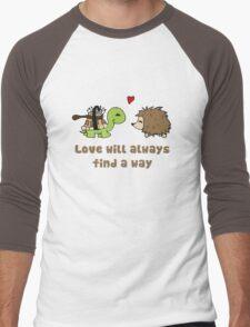 Love will always... Men's Baseball ¾ T-Shirt