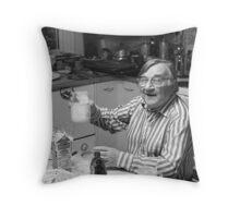 BORIS CHALIAPIN IN 1973 Throw Pillow