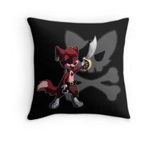 Chibi Foxy the Pirate Throw Pillow