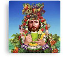 Herbal Jesus Canvas Print