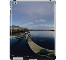 Dawn Calm at Foyle Marina - Rectangular iPad Case/Skin
