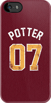 Harry Potter - Quidditch Shirt - NO.7 by soulthrow