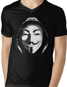 ANONYMOUS T-SHIRT Mens V-Neck T-Shirt