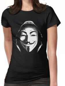 ANONYMOUS T-SHIRT Womens Fitted T-Shirt