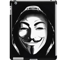 ANONYMOUS T-SHIRT iPad Case/Skin