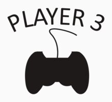 Player 3 Video Games Kids Clothes