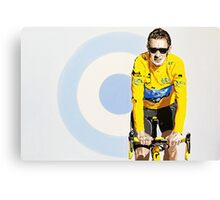 BRADLEY WIGGINS - MOD GOD CYCLIST Canvas Print