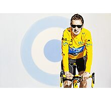 BRADLEY WIGGINS - MOD GOD CYCLIST Photographic Print