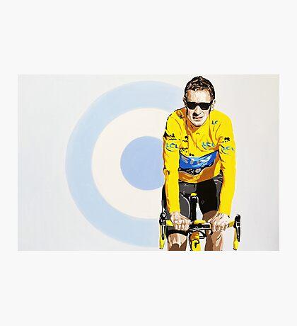 BRADLEY WIGGINS - MOD GOD CYCLIST Photographic Print