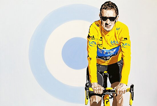 BRADLEY WIGGINS - MOD GOD CYCLIST by Phil Bower