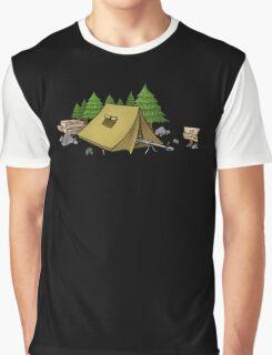 no camping Graphic T-Shirt