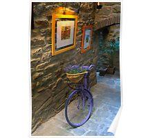 Tuscan Bicycle Poster