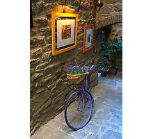 Tuscan Bicycle Photographic Print