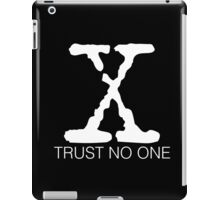 Trust No One iPad Case/Skin