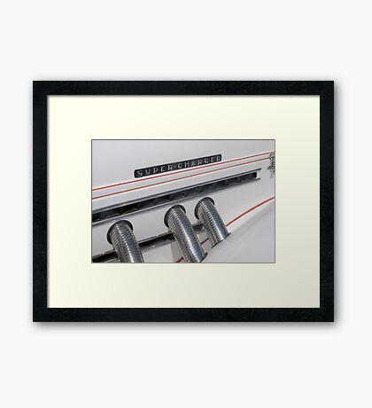 Super Charged Framed Print