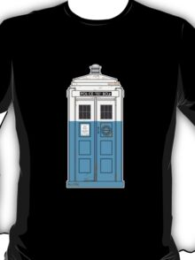 """The Dharma Initiative has the phonebox..."" T-Shirt"