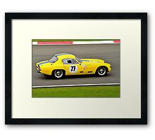 Lotus Elite No 77 Framed Print