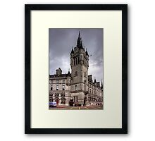 Aberdeen New Town House Framed Print