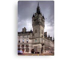 Aberdeen New Town House Canvas Print