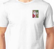 Christmas: Santa and The Dog Unisex T-Shirt