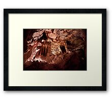 Enter a Gothic Palace – Lehman Caves Framed Print