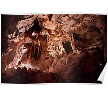 Enter a Gothic Palace – Lehman Caves Poster
