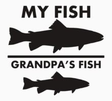 Grandpa's Fish My Fish Kids Clothes