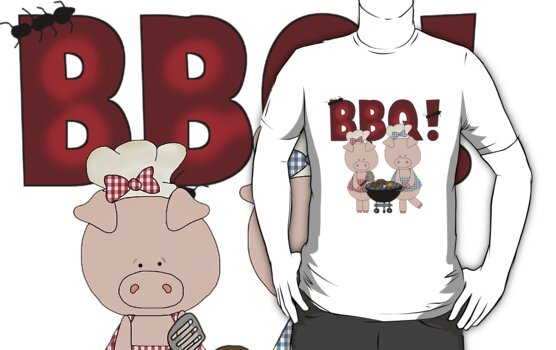 Barbeque Pigs by cowpie