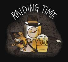 Raiding Time - Design #1 Kids Clothes