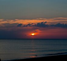 Colourful sunset by Alexandros L.