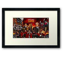 Miami Heat 2012 Championship Framed Print