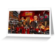 Miami Heat 2012 Championship Greeting Card