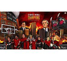 Miami Heat 2012 Championship Photographic Print
