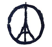 Peace for paris by jeme