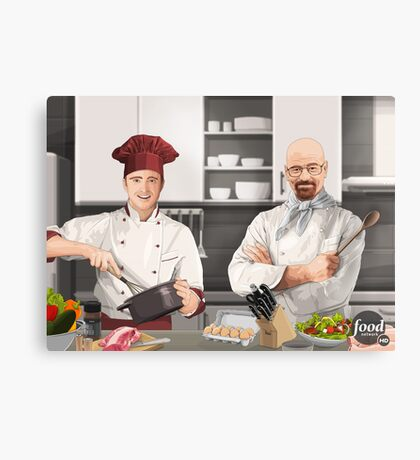 Cooking Bad Canvas Print