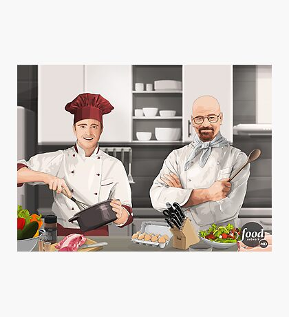 Cooking Bad Photographic Print