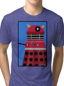 Dalek Sticker Tri-blend T-Shirt